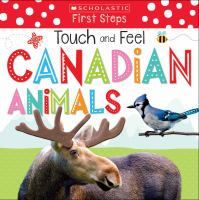 TOUCH AND FEEL CANADIAN ANIMALS [board Book]