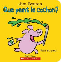 Que peint le cochon?