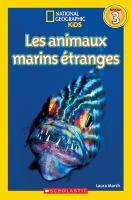Les animaux marins étranges