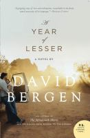 A Year of Lesser