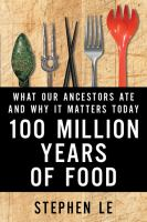 Image: 100 Million Years of Food