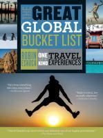 The Great Global Bucket List, [2016]