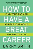 Image: How to Have A Great Career