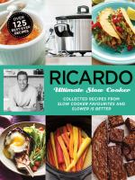 Ricardo Ultimate Slow Cooker