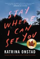 Cover of Stay Where I Can See You
