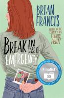 Media Cover for Break in Case of Emergency