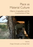 Place as Material Culture