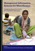 Management Information Systems for Microfinance