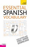 Essential Spanish Vocabulary
