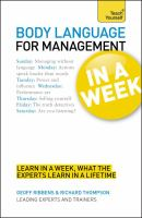 Body Language for Management in A Week