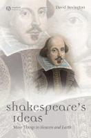 Shakespeares Ideas