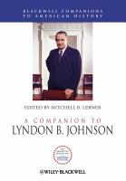 A Companion to Lyndon B. Johnson