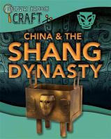China & the Shang Dynasty