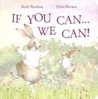 If You Can-- We Can!
