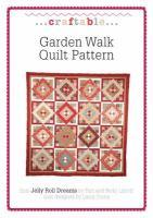 Garden Walk Quilt Pattern