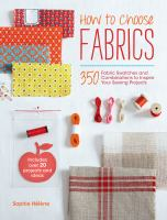 How to Choose Fabrics