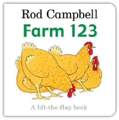 "Book Cover - Farm 123 : a lift-the-flap book "" title=""View this item in the library catalogue"