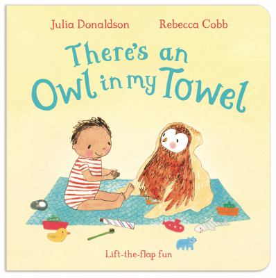 "Book Cover - There's an owl in my towel"" title=""View this item in the library catalogue"