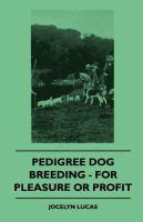 Pedigree Dog Breeding