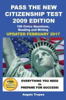 Pass the New Citizenship Test, 2009 Edition