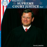 What Does A Supreme Court Justice Do?