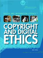 Copyright and Digital Ethics