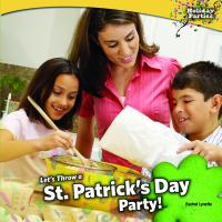 Let's Throw A St. Patrick's Day Party!