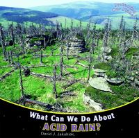 What Can We Do About Acid Rain?
