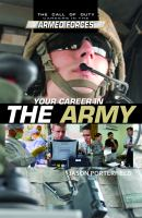 Your Career in the Army