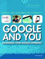 Google and You