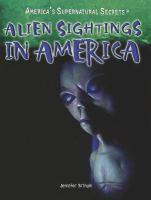 Alien Sightings in America