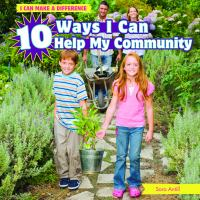 10 Ways I Can Help My Community