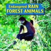 Endangered Rain Forest Animals