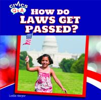 How Do Laws Get Passed?