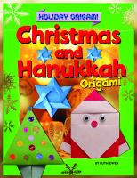 Christmas and Hanukkah Origami