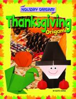 Thanksgiving Origami