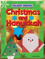 Christmas and Hanukkah Origami