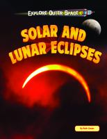Solar and Lunar Eclipses