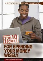 Top 10 secrets for spending your money wisely