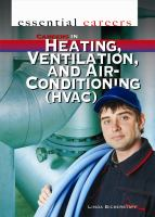 Careers in Heating, Ventilation, and Air-conditioning (HVAC)