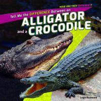 Tell Me the Difference Between An Alligator and A Crocodile
