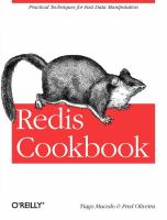 Redis Cookbook