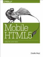 Mobile HTML5