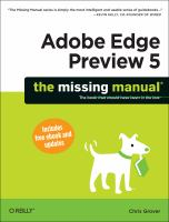 Adobe Edge Preview 5