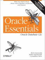 Oracle Essentials