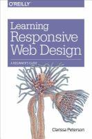 Learning Responsive Web Design : A Beginner's Guide