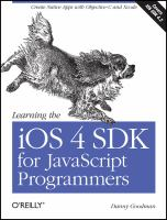 Learning the IOS 4P SDK for JavaScript Programmers