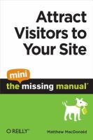 Attract Visitors to your Site