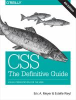 CSS : THE DEFINITIVE GUIDE
