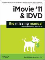 IMovie '11 & IDVD